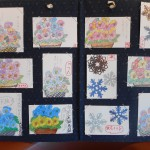 今月の絵手紙教室