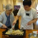 6月の料理教室【お好み焼き&もんじゃ焼き】